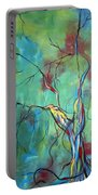 Tree Of Winding Color Portable Battery Charger