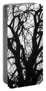 Tree Silhouette Portable Battery Charger