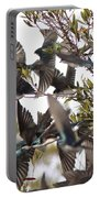 Tree Swallow Frenzy Portable Battery Charger