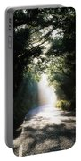 Treelined Road Portable Battery Charger