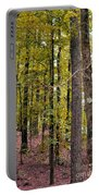 Trees Of Golden Hues Portable Battery Charger