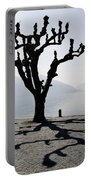 Trees With Shadows Portable Battery Charger