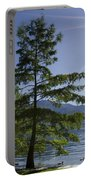 Trees With Sunbeam Portable Battery Charger