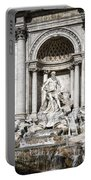 Trevi Fountain Detail Portable Battery Charger
