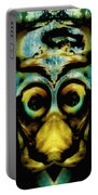Tribal Mask Portable Battery Charger