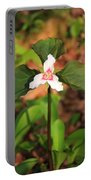 Trillium Wildflower Portable Battery Charger