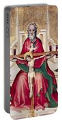 Trinity And Christ Portable Battery Charger