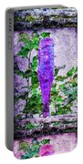 Triptych Cobalt Blue Purple And Magenta Bottles Triptych Vertical Portable Battery Charger
