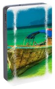 Triptych Longboat Portable Battery Charger