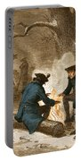 Troops At Valley Forge Portable Battery Charger