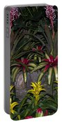 Tropical 1 Portable Battery Charger by Wanda J King