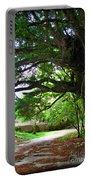 Tropical Banyan Path Portable Battery Charger