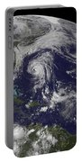 Tropical Cyclones Katia, Lee, Maria Portable Battery Charger
