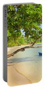 Tropical Island Scenery Portable Battery Charger
