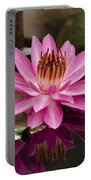 Tropical Night Flowering Water Lily  Rose De Noche IIi Portable Battery Charger