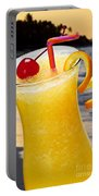 Tropical Orange Drink Portable Battery Charger