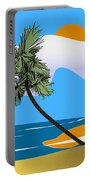 Tropical Outlook Portable Battery Charger