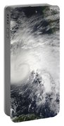 Tropical Storm Ida In The Caribbean Sea Portable Battery Charger
