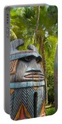 Tropical Tikis Portable Battery Charger