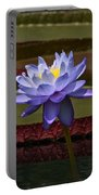Tropical Water Lilies Portable Battery Charger