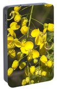 Tropical Yellow Flowers Portable Battery Charger