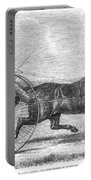 Trotting Horse, 1861 Portable Battery Charger