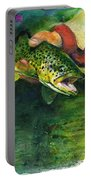 Trout In Hand Portable Battery Charger