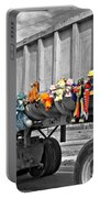 Truck And Dolls With Selective Coloring Portable Battery Charger