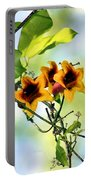 Trumpeting Spring Portable Battery Charger