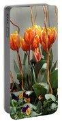 Tulip Arrangement Portable Battery Charger
