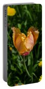 Tulip Opening Portable Battery Charger
