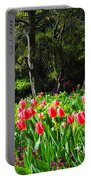 Tulips And Woods Portable Battery Charger