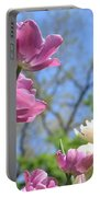 Tulips In The Sun Portable Battery Charger