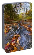 Tumbling Leaves Portable Battery Charger