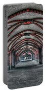 Tunnel With Arches Portable Battery Charger