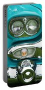 Turquoise Headlight Portable Battery Charger