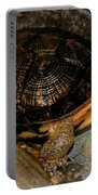 Turtle Time On The Rocks Portable Battery Charger