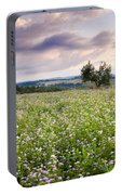 Tuscany Flowers Portable Battery Charger