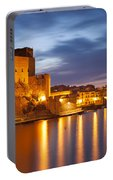 Twilight In Collioure Portable Battery Charger