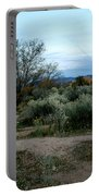 Twilight Near Santa Fe Portable Battery Charger