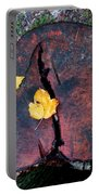 Twin Fallen Leaves Portable Battery Charger