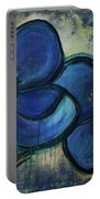 Two Blue Poppies Portable Battery Charger