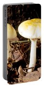 Two Death Cap Mushrooms Portable Battery Charger