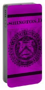 Two In Purple Portable Battery Charger