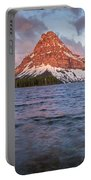 Two Medicine Lake Panorama Portable Battery Charger