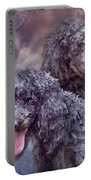Two Poodles Portable Battery Charger