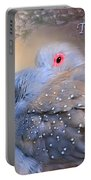 Two Turtle Doves Card Portable Battery Charger