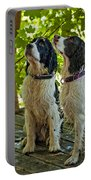 Two Wet Puppies Portable Battery Charger