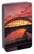 Tyne Bridges At Sunrise IIi Portable Battery Charger