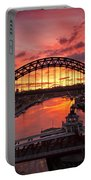 Tyne Bridges At Sunrise IIi Portable Battery Charger